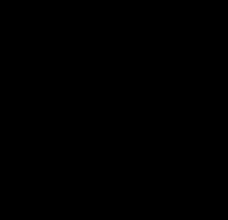 """Un exemple de structure de la lignine. Mais il n'existe pas en réalité de structure """"type"""", les 4 monomères se trouvant dans chaque végétaux dans des proportions différentes."""