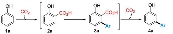Les molécules entre crochets sont effectivement formées, mais non isolées, non purifiées. A la fin de la réaction, reste seulement le composé noté 4a.