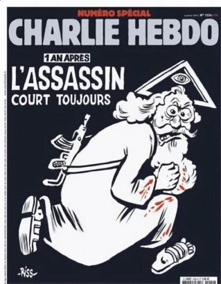 Une de Charlie Hebdo, 6 janvier 2016